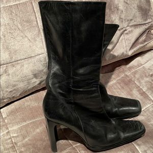 Charles David Leather Boots